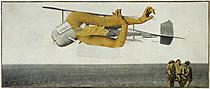 Max Ernst, Murdering Airplane, 1920