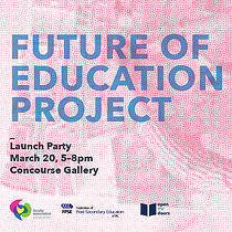 Project Launch + Exhibition Opening, 5-8pm Monday, March 20