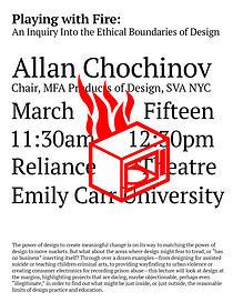 Allan Chochinov, March 15
