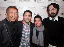 (L-R) Paul Wong, Jeff Chiba Stearns, Su-An Ng, Randall Okita. Photo by Brian Cho