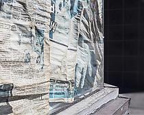 "Fade (49°15'2"" N 123°4'35"" W), 2014, archival pigment print, 16"" x 20"", 40.64cm x 50.80cm"