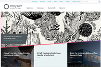 New ecuad.ca website, September 2015