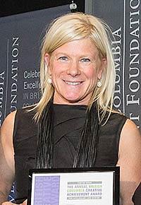 Tania Gleave, 2014 recipient
