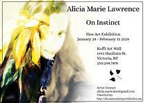 On Instinct: Fine Art Exhibit