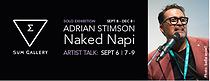 Adrian Stimson at SUM Sept 6th and 8th 2018!