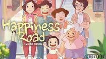"Poster image for the animated feature ""On Happiness Road"""