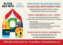 Prospective Teacher Open House