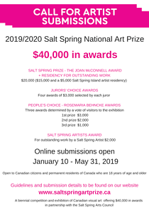 Call to Artists - $40,000 in Awards