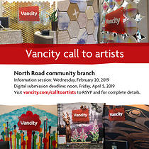 Vancity call to artists North Road Branch 16
