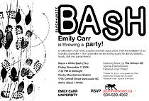 Black + White Bash - a party for the Emily Carr Community