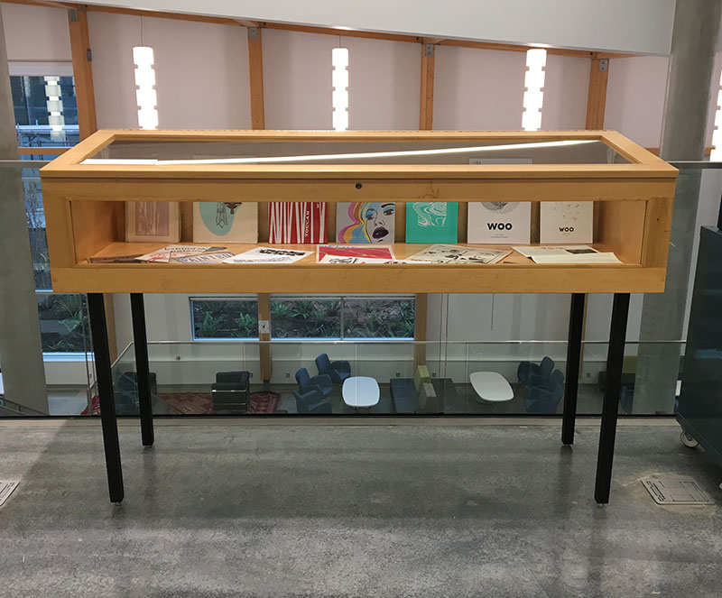 Exhibition Space in the Library   Emily Carr University
