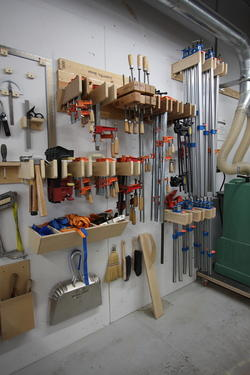 Tools available in the ID Wood shop