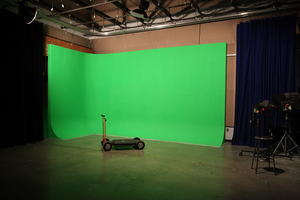 Sound Stage with green screen