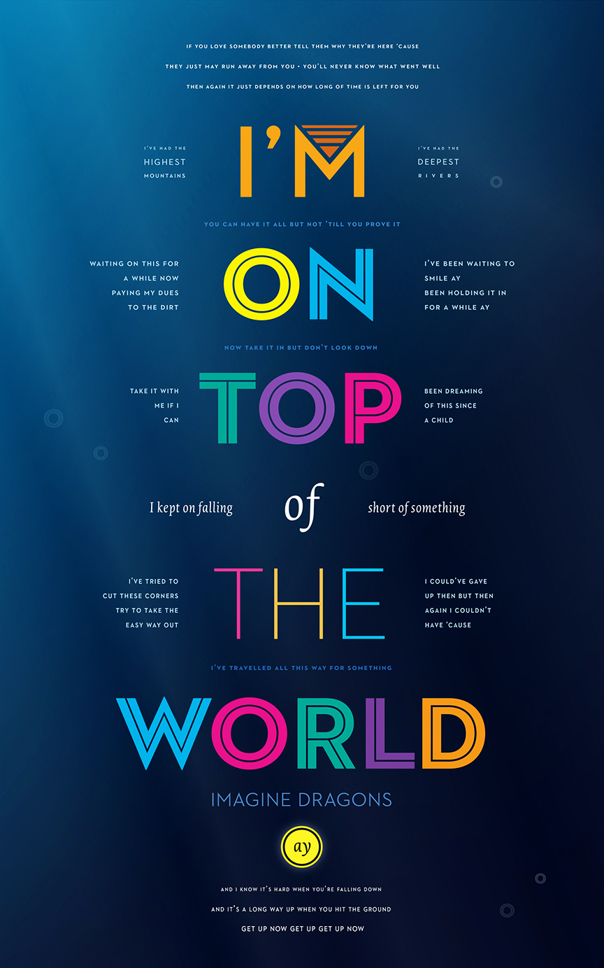 Audio - On top of the world wallpaper ...