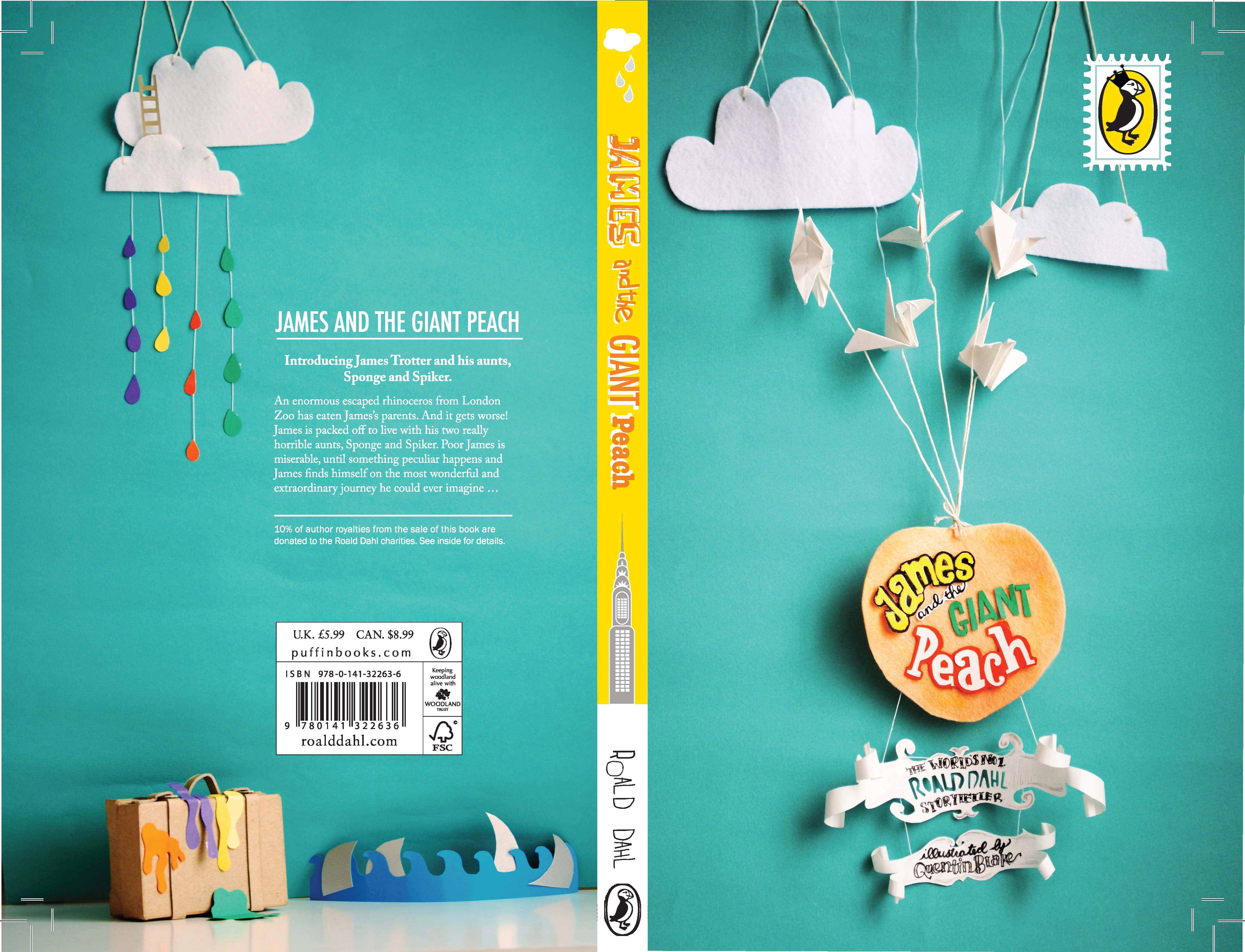 Best Book Cover Design Program : James and the giant peach emily carr university