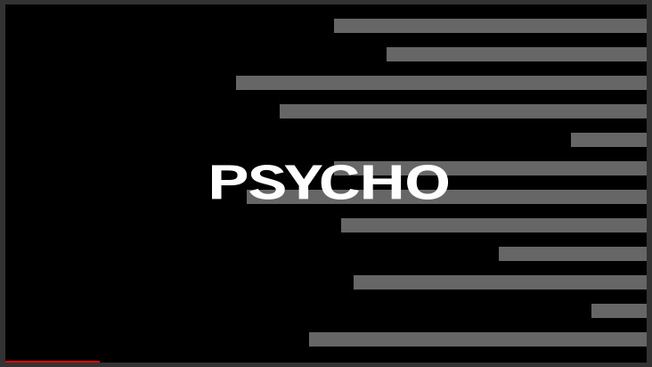 Image result for psycho title sequence