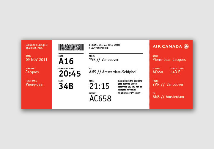 how to cancel air canada ticket